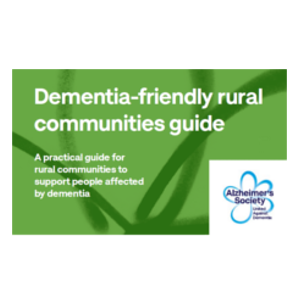 Dementia-friendly rural communities guide