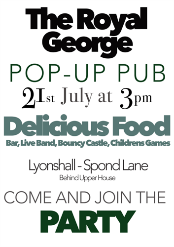 The Royal George Pop-Up Pub