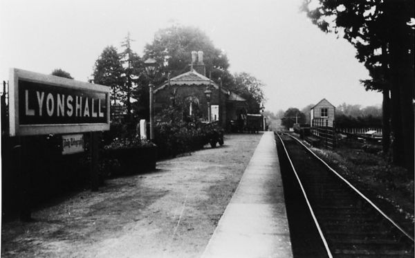 Lyonshall Train Station